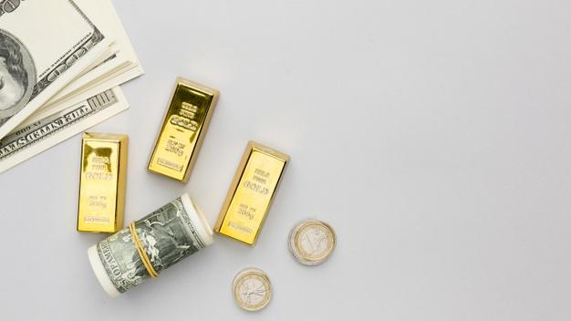 доллары золото
